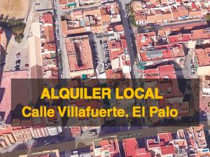 Alquiler Local Calle Villafuerte